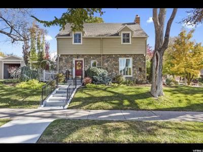 Salt Lake City Single Family Home For Sale: 923 S 1500 E