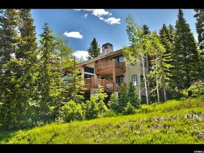Park City Single Family Home For Sale: 5 Bellevue Ct