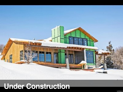 Wasatch County Single Family Home For Sale: 9001 N Twin Peaks Dr #16S39