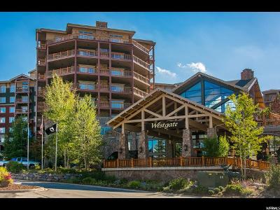 Park City Condo For Sale: 3000 N Canyons Resort Dr W #4802