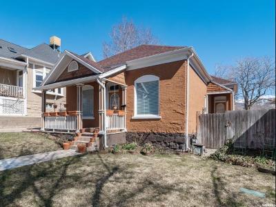 Salt Lake City Single Family Home For Sale: 324 F St