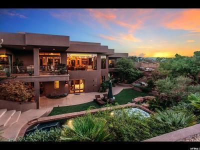 St. George Single Family Home For Sale: 2534 N Anasazi Trl