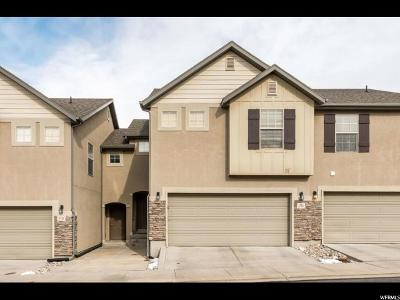 Spanish Fork Townhouse For Sale: 1723 E Willow Way