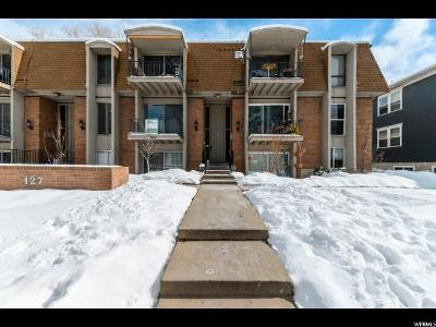 Salt Lake City Condo For Sale: 127 S 800 E #36