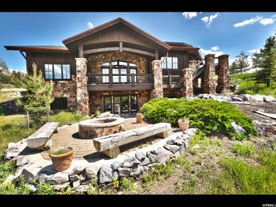 Park City Single Family Home For Sale: 7547 Sage Meadow Rd