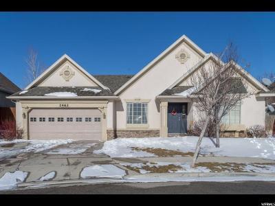 Lehi Single Family Home For Sale: 2462 W Pebble Creek Dr