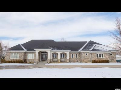 Mapleton Single Family Home For Sale: 941 E Hawks Rest Dr