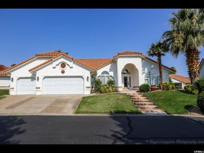 St. George Townhouse For Sale: 145 S Crystal Lakes Dr W #87