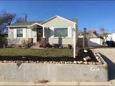 Salt Lake City Single Family Home For Sale: 2727 E Louise Ave S