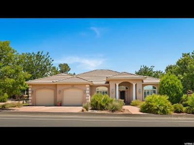 St. George Single Family Home For Sale: 3465 S Bloomington Drive W