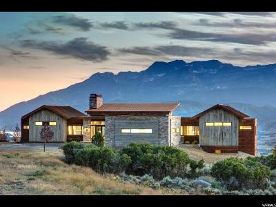 Wasatch County Single Family Home For Sale: 1971 N Lookout Peak Cir (Lot 548) #548