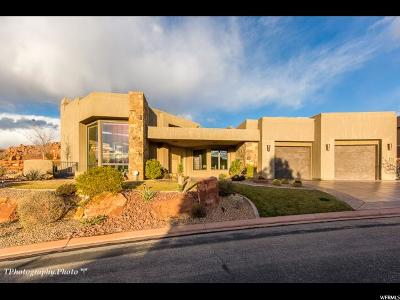 St. George Single Family Home For Sale: 3052 Snow Canyon Pkwy #169