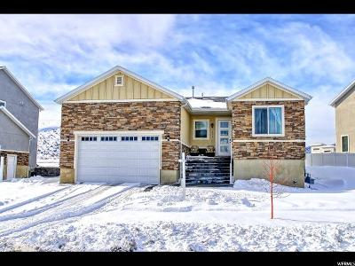 West Valley City Single Family Home For Sale: 6508 W Luminous Way S #229
