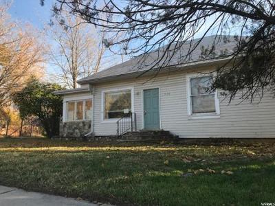 Layton Single Family Home For Sale: 1632 E Cherry Ln