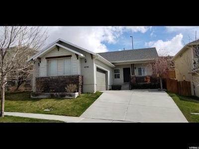 Lehi Single Family Home For Sale: 4338 N Pheasant Ridge Trl E