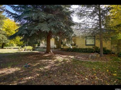 Clearfield Single Family Home For Sale: 1295 W 300 N