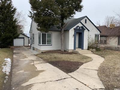 Weber County Single Family Home For Sale: 2909 S Harrison Blvd E