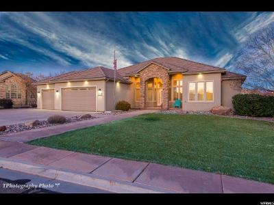 St. George Single Family Home For Sale: 2489 S 2310 Cir E