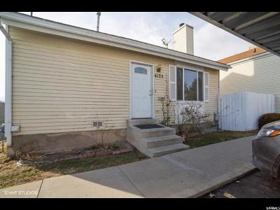 West Valley City Single Family Home For Sale: 4132 S Eastern Park Ln W