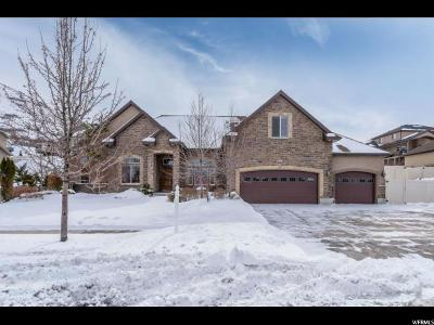 Salt Lake County Single Family Home For Sale: 6803 W Clear Water Dr S