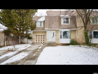 Springville Single Family Home For Sale: 1243 S 550 E