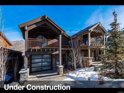 Park City Single Family Home For Sale: 1206 Empire Ave