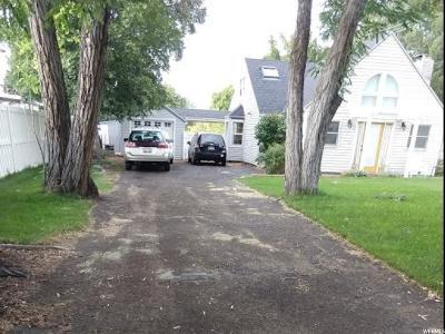 Salt Lake City Single Family Home For Sale: 2147 E Evergreen Ave S