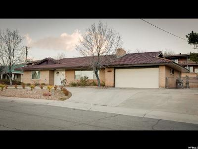 St. George Single Family Home For Sale: 660 N 1100 W