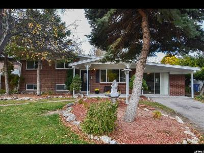 West Valley City Single Family Home For Sale: 3760 S Market St W