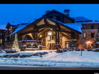 Park City UT Condo For Sale: $755,000
