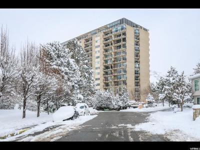 Salt Lake City Condo For Sale: 875 S Donner Way E #806