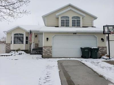 Tooele County Single Family Home For Sale: 898 N 1340 E
