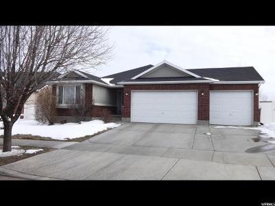 West Jordan UT Single Family Home For Sale: $419,000