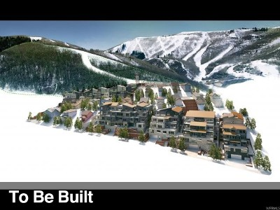 Park City Condo For Sale: 1271 Lowell Ave #D102