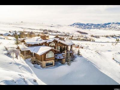 Park City Single Family Home For Sale: 3527 E Westview Trl