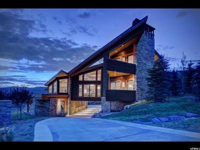 Park City Single Family Home For Sale: 7871 N West Hills Trl #58