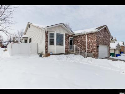 West Jordan UT Single Family Home For Sale: $350,000