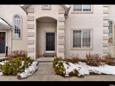 Pleasant Grove Townhouse For Sale: 1009 N 1140 W