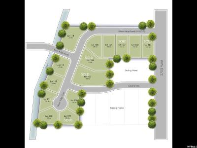 South Jordan Residential Lots & Land For Sale: 10614 S Urban Ridge Rd