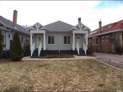 Salt Lake City Multi Family Home For Sale: 614 S 900 E