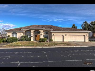 St. George Single Family Home For Sale: 1453 E 1800 S