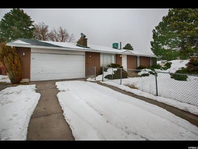 Salt Lake City Single Family Home For Sale: 4362 W 6200 S