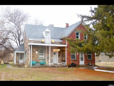 Single Family Home For Sale: 61 N 100 W