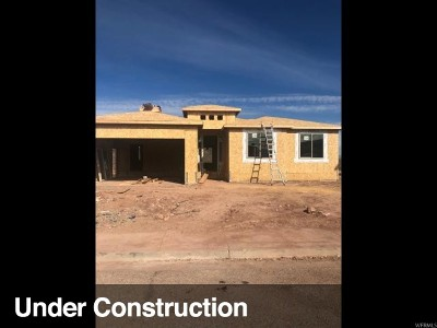 St. George Single Family Home For Sale: 782 Obsidian Dr