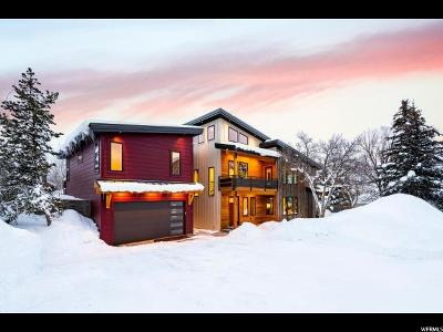 Park City Single Family Home For Sale: 1572 W Village Round Dr #14
