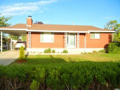 Salt Lake City Single Family Home For Sale: 3498 S Park Meadows St