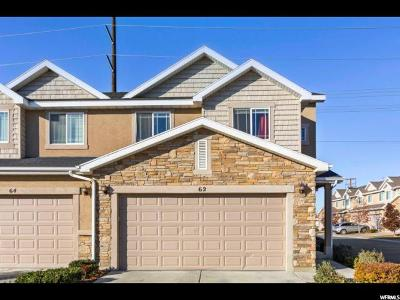 Utah County Townhouse For Sale: 62 S 610 E