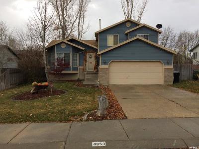 West Jordan UT Single Family Home For Sale: $297,500