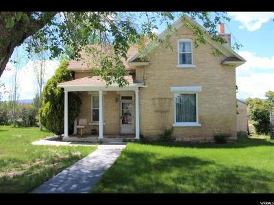 Centerfield Single Family Home For Sale: 205 N Main