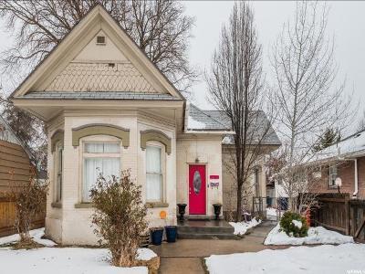 Salt Lake City Single Family Home For Sale: 1187 S 300 E